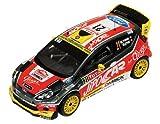 Ixo - Ram545 - Véhicule Miniature - Modèles À L'échelle - Ford Fiesta SR WRC - Rallye Monte Carlo 2013 - Echelle 1/43