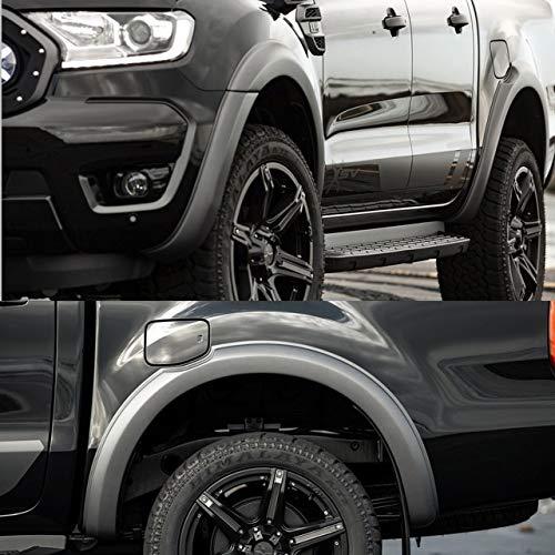 Mmhot 3' 6' 9' Auto-Kotflügelverbreiterungen, Auto Seite Fender Rad Augenbraue Arch Radabdeckungen for Ford Ranger...