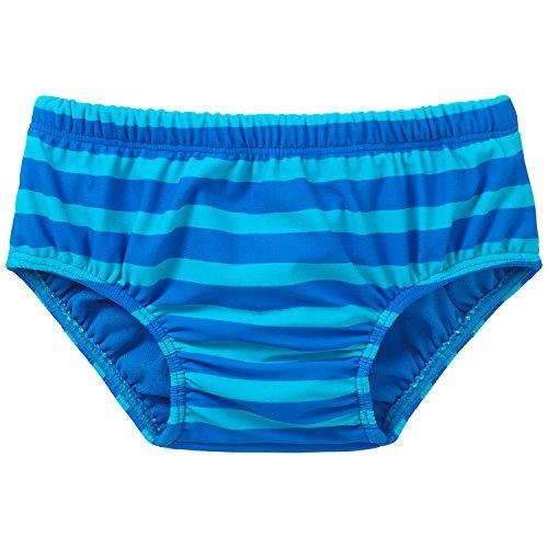 Schiesser Bade-Slip Boxer, Bleu-Bleu (800), 3 Mois Bébé garçon