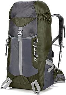 Shelf Shelves Bulk Travel Outdoor Mountaineering Bag USB Charging Shoulder Sports Backpack backpacks (Color : Black),Colou...