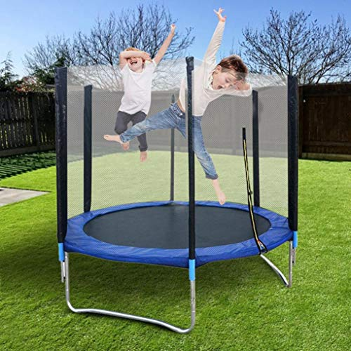 US Fast Shipment Easy to Assemble 6 FT Kids Trampoline with Enclosure...