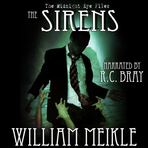 The Midnight Eye Files: The Sirens audiobook cover art
