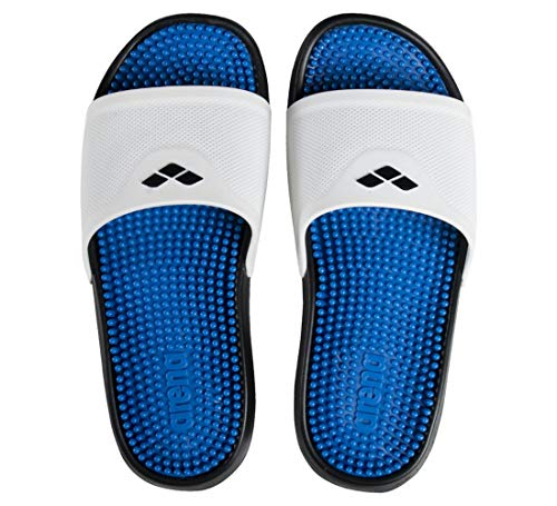 Arena Marco, Footwear Unisex Adulto, White-Cyan-Black, 36
