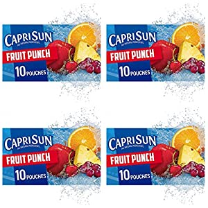 Capri Sun Fruit Punch Ready-to-Drink Juice (10 Pouches) |