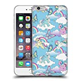 Head Case Designs Officially Licensed My Little Pony Classic Rainbow Unicorns Off My Cloud Soft Gel Case Compatible with Apple iPhone 6 Plus/iPhone 6s Plus