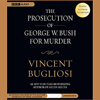 The Prosecution of George W. Bush for Murder audiobook cover art
