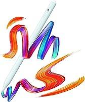 タッチペン iPad対応 ペンシル パームリジェクション搭載 オートスリープ機能 高感度 1mm極細ペン先 USB充電式 メモ取り ゲーム用 iPad(第6/7/8世代)/iPad mini5/iPad Air3/iPad Air4/iPad...