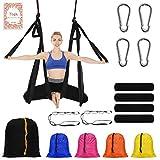 NewDoar Aerial Yoga Swing Parachute Aerial Yoga Hammock Flying Antigravity Yoga Inversion Fitness