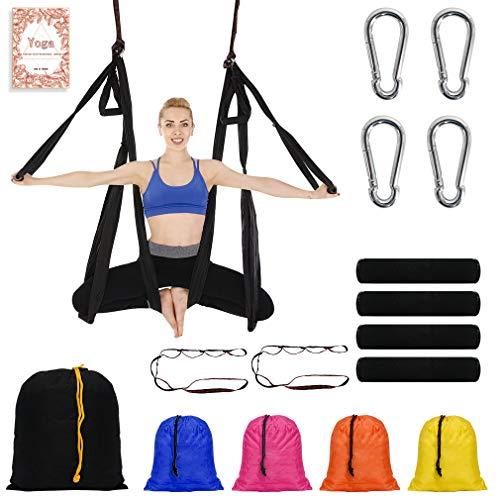 NewDoar Aerial Yoga Swing Parachute Aerial Yoga Hammock Flying Antigravity...