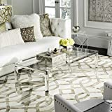 Safavieh Couture Home Suzanna Glam Silver Acrylic Coffee Table