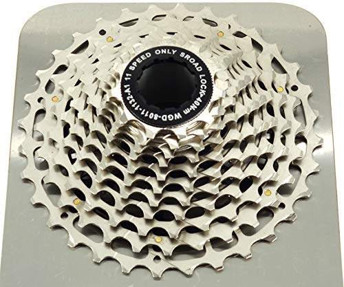 JGbike ~180g Lightweight 11 Speed Single Piece Cassette for Road Gravel cyclecross Bike, for Shimano Dura Ace Ultegra or SRAM Red Force for Triathlon - The Best Value Cassette Available