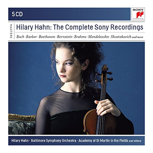 Hilary Hahn - The Complete Sony Reco Rdings