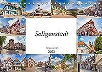 Seligenstadt Impressionen (Tischkalender 2022 DIN A5 quer): Seligenstadt auf zwoelf wunderschoenen Bildern festgehalten (Monatskalender, 14 Seiten )