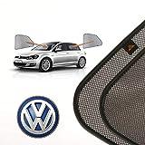 Cortinillas Parasoles Coche Laterales Traseras a Medida para Volkswagen Golf (7) (2012-presente) Hatchback 5 Puertas