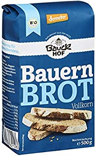 Bauckhof Bauernbrot, Vollkorn, 6er Pack 6 x 500 g