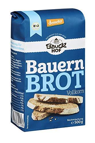 Bauckhof Bauernbrot, Vollkorn, 6er Pack  (6 x  500 g)