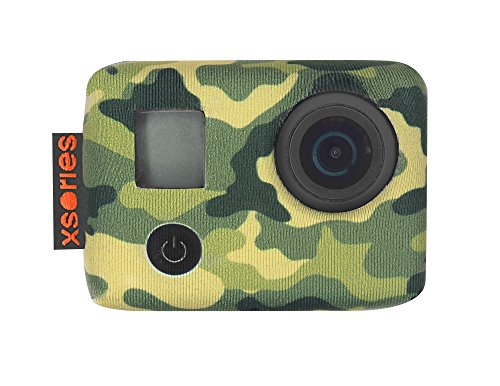 Xsories TXSD3A808 Tuxsedo Lite, Funda de neopreno para GoPro Héroe 3 / Héroe 3/4, Multicolor (Jungle Camo)