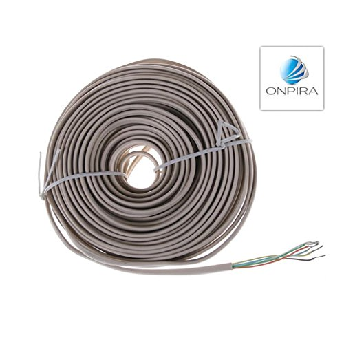 15m 0,46 €/m 6x 0,65 mm² Flachkabel Kabel Modellbau Video Türsprechanlage