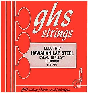 GHS Lap-E Nickel Plated Steel Electric Hawaiian Lap Steel E Tuning Strings