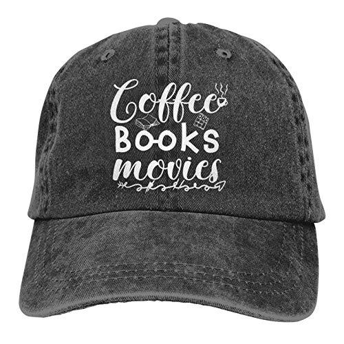 Jopath Reading Will Give Me Strength - Sombrero de vaquero para adultos, color negro lavado para hombre - Nunca dejar de leer2