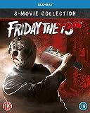 Friday The 13Th 1-8 Boxset (6 Blu-Ray) [Edizione: Regno Unito] [Blu-ray]