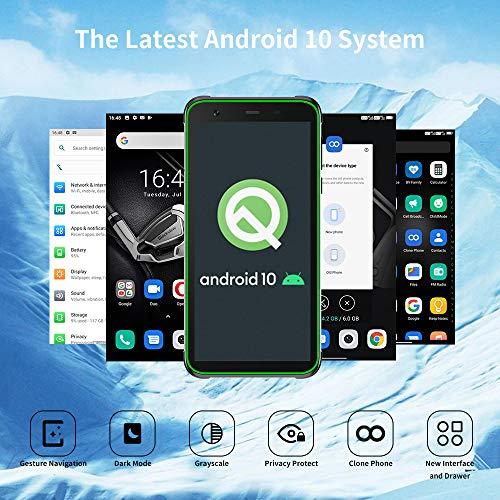Téléphone Incassable, Blackview® BV6300 Pro Smartphone Débloqué 4G (Quad Caméra 16MP, Android 10, Helio P70 Octa-Core, 6Go+128Go, Batterie 4380mAh, 5.7