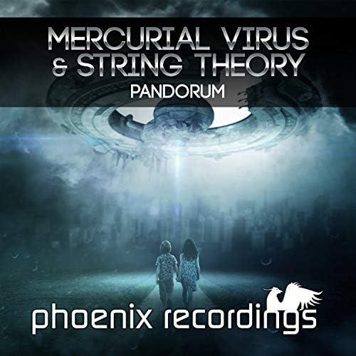 Mercurial Virus & String Theory