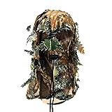 LSB-Hunting Cagoule 3D Camouflage Masque intégral pour jeux de guerre Cyclisme Chasse...