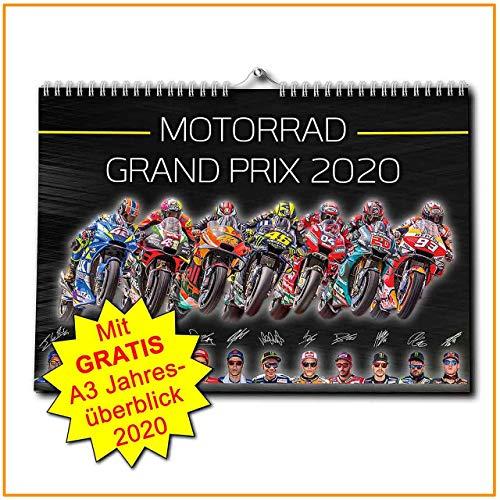 Motorrad Grand Prix Kalender 2020 - Premium Wandkalender - TOPSELLER - MotoGP