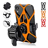 Bike Phone Mount - Trkimal Universal Adjustable Cell Phone Holder for Bicycle Motorcycle Compatible...