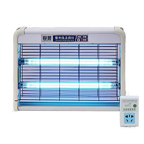 UV-Desinfektionslampe, Luftreiniger/Kill Mold Bacteria/Antibakterielle Rate 99%, für Auto/Haushalt/Schule/Hotel/Tierbereich,Standard,40W