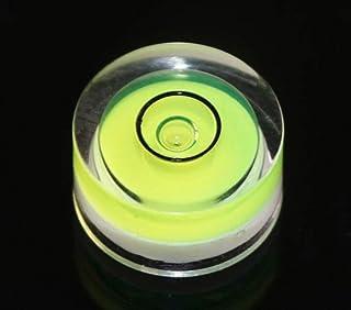 12 قطعة/عبوة فقاعات صغيرة المستوى 15 × 8 مم دائرة صغيرة فقاعات بولي مستويات الروح لمنظار ترايبود فونوغراف أدوات قياس أسطوانات