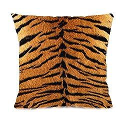 11 One Tiger Theme Plush Throw Pillow