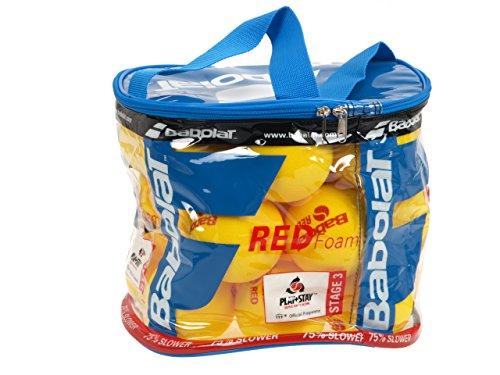 Babolat Red Foam X24 Bolsa de Pelotas de Tenis, Unisex Adulto, Amarillo,...