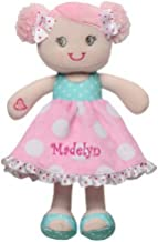 DIBSIES Personalization Station Personalized Hearts & Bows Snuggle Doll - 11 Inch