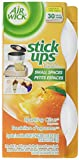 Air Wick Stick-Ups Air Freshener, Sparkling Citrus, 2 Count (Pack of 3)