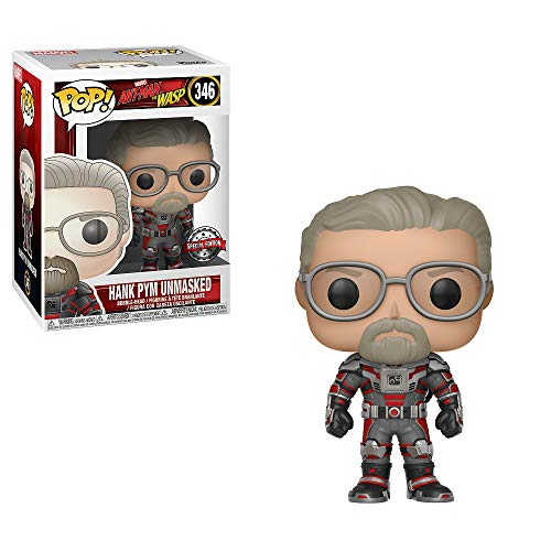 Pop! Ant-Man & The Wasp Hank Pym Unmasked Vinyl-Figur