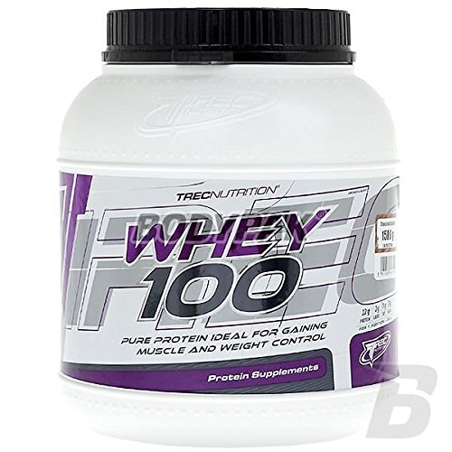 Trec nutrition whey 100 1500 gram banana protein concentrate