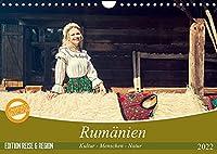 Rumaenien Kultur - Menschen - Natur (Wandkalender 2022 DIN A4 quer): Ein fotografischer Streifzug durch Rumaeniens besondere Landschaften und reichhaltige Kultur. (Monatskalender, 14 Seiten )