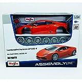 BBURAGO MAISTO FRANCE - M39509 - Maquette - Kit Métal Lamborghini Huracan LP610 1/24 - Couleur Aléatoire