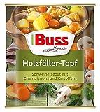 Buss Holzfäller-Topf Schweineragout mit Champignons und Kartoffeln , 6er Pack (6 x 800 g)
