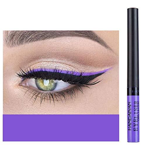 Blue Vessel 1pc Eyeliner Liquid matt Makeup Eyeliner Makeup Auxiliar Lidschatten (05#)