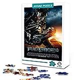 zhangkk Impossible Puzzle 1000 Pieces Transformers: Megatron Jigsaw Puzzles para Adultos Adultos Niños Grandes Pinturas Intelectuales Educativas Puzzle Game75x50cm