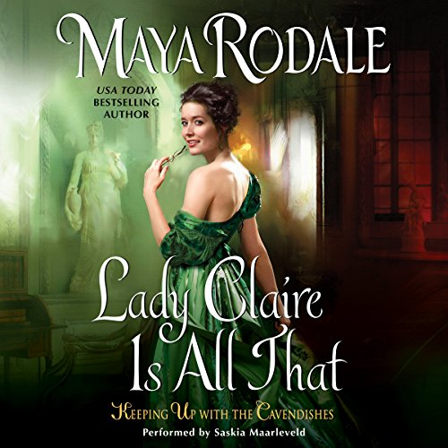 Lady Claire Is All That audiobook cover art