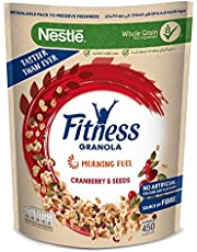 Nestle Pumpkin Seeds with Cranberry Granola, 450g - Pack of 1