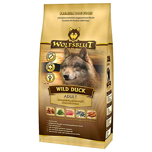 bester Test von select gold sensitive hundefutter Wolfsblut |  Wildenten für Erwachsene |  15 kg |  Ente |  Trockenfutter |  Hundefutter |  Keine Körner