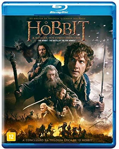 O Hobbit Parte 3 [Blu-ray]