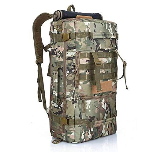 ASDAHSFGMN Military Backpack Camping Bags Mountaineering Bag Men Hiking Rucksack Travel Backpack