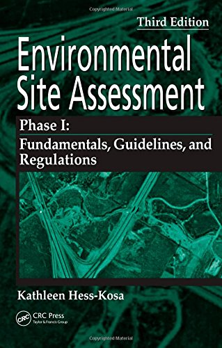 Environmental Site Assessment Phase I: A Basic Guide,...