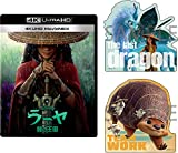 【Amazon.co.jp限定】ラーヤと龍の王国 4K UHD MovieNEX [4K ULTRA HD+ブルーレイ+デジタルコピー+MovieNEXワールド](オリジナルダイカットステッカーセット付き) [Blu-ray]